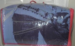 Disney Hannah Montana Reversible Purple Lavender Full Bed Embellished