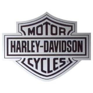 Harley Davidson Chrome Bar Shield Decal