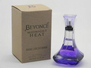 Beyonce Midnight Heat EDP Spray 3 4oz 100ml New Tester