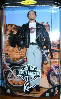 1998 Harley Davidson Ken 1 Collector Edition Barbie