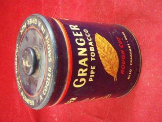 Granger Pipe Tobacco Tin