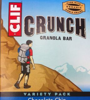 60 Pack Clif Energy Bars Granola Peanut Butter And Chocolate Chip 2