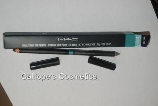 Mac Heatherette BNIB Black Funk Pop Blue Dual Pencil