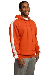 Sport Tek Pullover Hoody Hoodie Hooded Sweatshirt with Stripe
