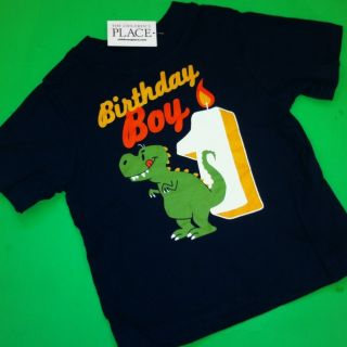 NEW** 1st Birthday 1 Year Baby Boys Graphic Shirt 12 18 Months Gift