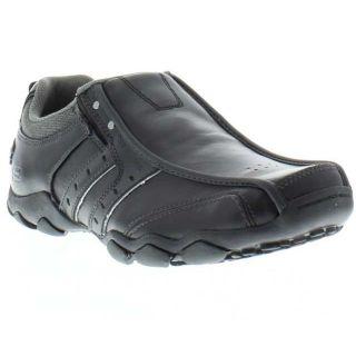 Skechers Shoes Genuine Diameter Heisman Black Mens Shoe Sizes UK 6 13