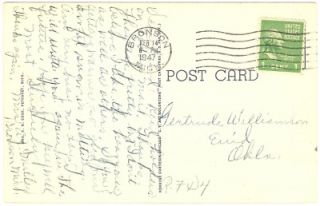 Harbor Point, Harbor Springs, Michigan   Linen POSTCARD #341