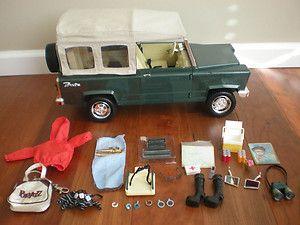 BRATZ Cruiser Jeep Vehicle Truck Car Wild Life Safari Collection w