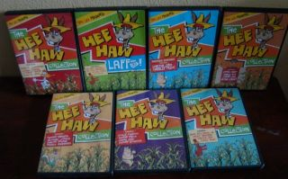 HEE HAW 7 DVD COLLECTION 12 Episodes+Laffs OUT OF PRINT GRAND OLE