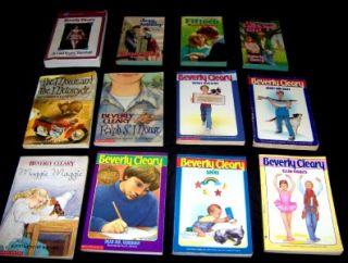 Children Newbery Award Book Lot Ramona Beezus Henry Mouse