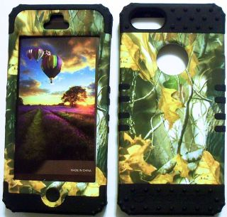 Skin Hybrid Apple iPhone 5 Rubber Hard Protector Cover Case