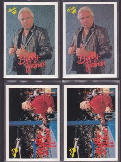 Classic 30 83 Bobby The Brain Heenan Wrestling Card Lot 50s H