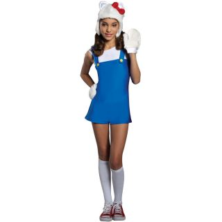 Hello Kitty Hello Kitty Blue Romper Dress Child Costume