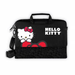 Hello Kitty Notebook Laptop Computer Case Bag Black New