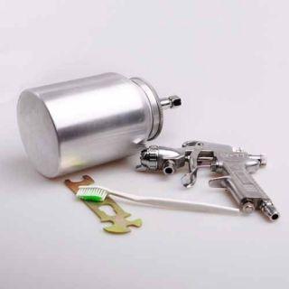 HVLP Gravity Feed AIR PAINT SPRAY GUN kit Ideal for spraying basecoat