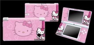 hello kitty design decal sticker skin cover protector nintendo dsi