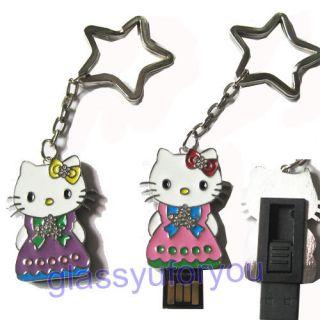 4GB Skirt Hello Kitty USB 2 0 Flash Memory Drive