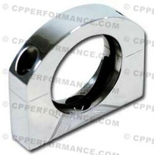 Hardin Marine 2 Polished Billet O Ring Clamp Oil Cooler Bracket