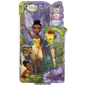Disney Fairies Tinker Bell Pixie Light Great Fairy Rescue Doll