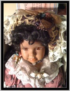 Cathay Collection Portion Doll Named Shelby COA