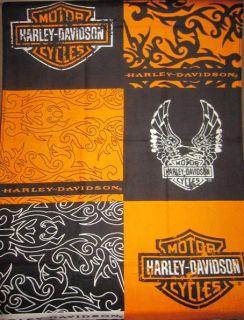 New Harley Davidson Tribal Shield & Eagle Motorcycle Bath Beach Towel