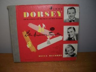 Jimmy Dorsey Latin American Favorites Decca Album Only