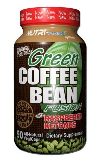 Green Coffee Bean Fusion with Raspberry Ketones 90 Capsule