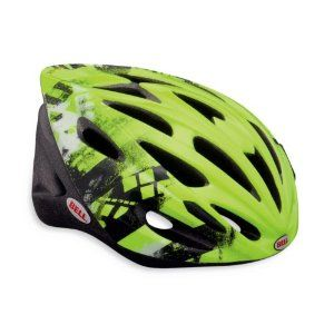 SOLAR Cycling Road Bike Helmet Hi Vis Green/Black Linear Universal