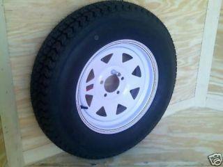 Trailer Spare Tire Mount 4 Wheels Cargo or Open Trailer