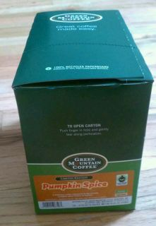 Green Mountain Coffee Pumpkin Spice, 24 Count K Cup Pack for Keurig K