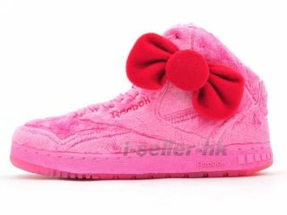 Reebok PT 20 Int x Hello Kitty Plush Kitty Pink J22044 Wmns US 5 5 8 5