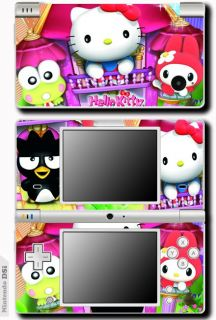 Hello Kitty Cat Vinyl Skin Sticker for Nintendo DSi 4