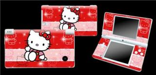 hello kitty decal sticker skin vinyl cover protector nintendo dsi ndsi