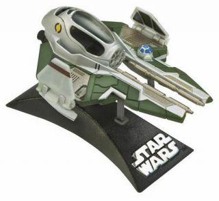 Star Wars Titanium Series Anakins Jedi Starfighter Mustafar Lot 2