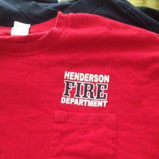 Henderson Nevada Fire Department XXL Mens T Shirt Paramedic Rescue