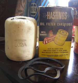 Hastings 502A Oil Filter Cartridge with Densite