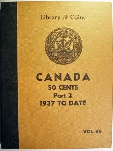 Library of Coins Canadian 50 Cent Album Part 2 1937 to Date