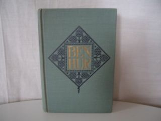 1908 Ben Hur Book by Henry L Wallace Hardcover