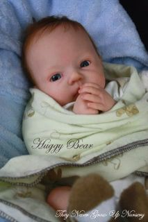 New Reborn Baby Doll Kit Huggy Bear by Dianna Effner