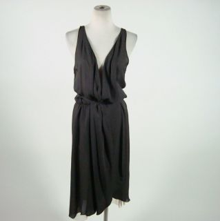 Haute Hippie Grey Wrap Dress