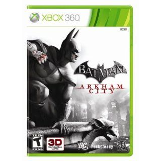 Batman Arkham City Xbox 360 Brand New Factory SEALED