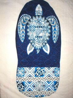 PC Sea Turtle Hawaiian Quilt Hawaii Car Seat Cover Blue