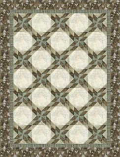 Glimmer by Kate Mitchell Quilts Tablerunner to Queen Quilt Patterns