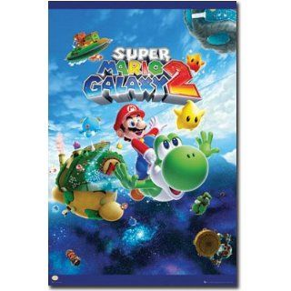 Super Mario Galaxy 2   Nintendo Gaming Poster (Size 24 x