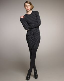 by Alexander Wang Striped Jersey Dress
