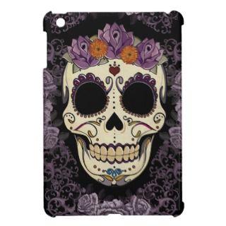 Vintage Skull and Roses iPad Mini Case
