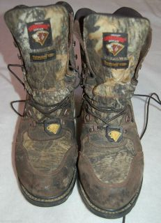 HERMAN SURVIVORS Hunter Boots Camouflage Mens 12W ScentMask Free