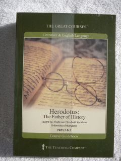 Teaching Co Great Course Herodotus DVDs Brand New