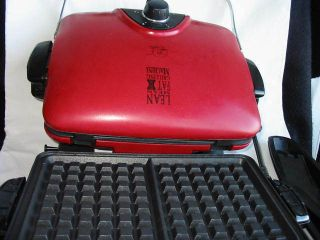George Foreman Red G5 Indoor Grill with 5 Interchangeable Plates