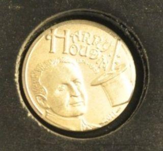 harry houdini magic coin box 2011 palau ag plt